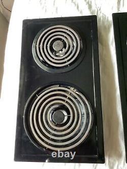 2 Jenn Air A100 Black Coil Burner Cartridge for cooktop or Range