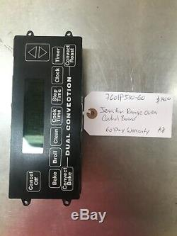 7601P510-60 Jenn Air Range Oven Control Board. 60 Day Warranty