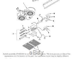 A1 Maytag Whirlpool Jenn-Air Range Vent Switch Assy 49001295