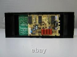 A1 Whirlpool Electric Range Control Board with Black Overlay W10343472 ASMN