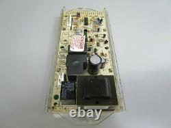A1 Whirlpool Range Control Board with White Overlay (TESTED GOOD) 6610309 ASMN