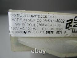 A1 Whirlpool Range Oven Control Board (TESTED GOOD) 6610463 00N21733002 ASMN