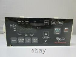 A1 Whirlpool Range Oven Control Board withBlack Overlay (TESTED GOOD) 8524304 ASMN