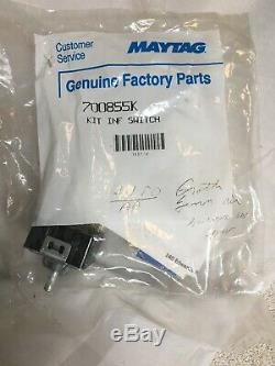 Genuine 700855K Jenn-Air Range Surface Unit Switch Kit New In Factory Sealed Bag