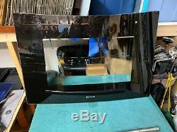 JENN-AIR RANGE GLASS DOOR W10272332 WPW10272332 Black Good Used Condition