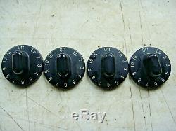 JENN AIR SVE47600B Range Knob Set