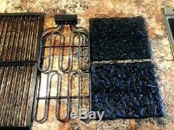 Jenn Air Downdraft Range Electric Grill, Griddle, Grate, Lava Rock Plates, Eleme