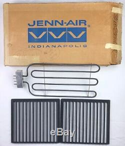 Jenn-Air Electric Range Cooktop 3 Prong Burner Element & Grill Grates 800862-3