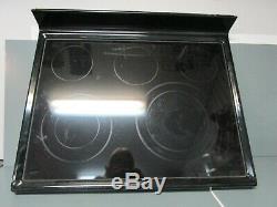 Jenn-Air Electric Range Cooktop, Black (24 x 30 x 5) W10258713 ASMN