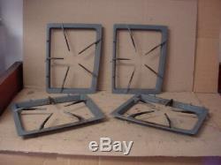 Jenn-Air Range Burner Grate Set Lite Wear+Stains Part # 74006013 74006010