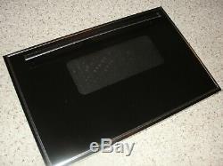 Jenn Air Range S160 Range Outer Door Glass and Handle Black