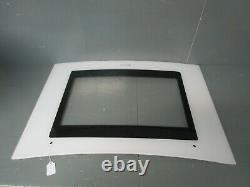 Jenn-Air Slide-In Electric Range Oven Outer Door, White & Black 74011510 ASMN