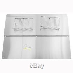Jenn Air W10285449 48-in Range Backsplash with Shelf (Stainless Steel)