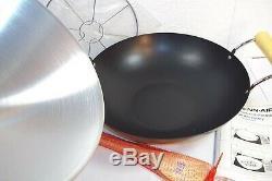 Jenn-Air WOK Range Cooktop AO142 Flat Bottom withRack Lid & Paddles