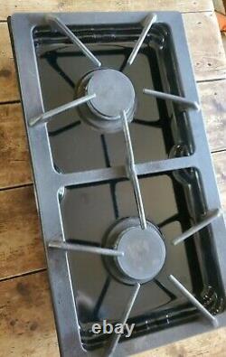 Jenn Air, Whirlpool OEM Range JGA8100ADB Gas 2 Burner Cartridge Black