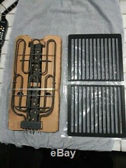 Jenn Aire Downdraft Range BBQ GRILL Grates Cartridge Heating Element Lava NEW