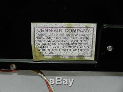 Jenn-air Oem Back Splash With Light For Downdraft Stove Range Fluorescent