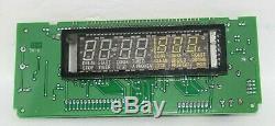 Maytag Jenn-Air Oven Range Control Display Board & Clock for SVE47500W Invensys
