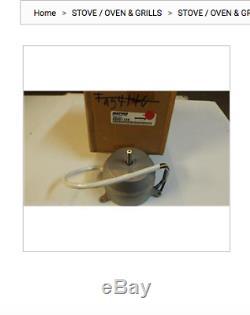 Maytag Jenn-Air Range Stove AMANA Vent Motor 49001128 New OEM
