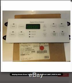 Maytag Surface Jenn-Air Range Stove 5701M685-60, 74007157 Control Board