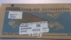 New OEM Jenn-Air Range Gas Grill Cover White AG341W