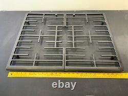New Whirlpool Range Oven Surface Burner Grate Assembly (Left & Right) W10620480