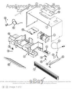 Range Stove WHIRLPOOL AMANA JENN-AIR Microwave Motor 56001095
