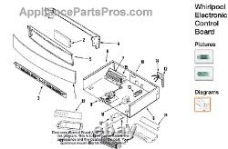 SO New Jenn-Air Range Stove OEM Whirlpool W10169131 Oven Control Board