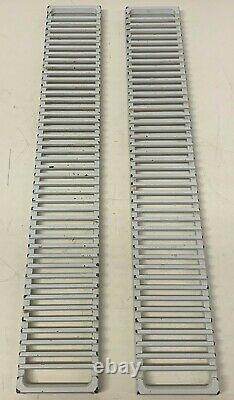 Set Of 2 Range Downdraft Vent Grille Removed From Jenn-Air Model CP320W
