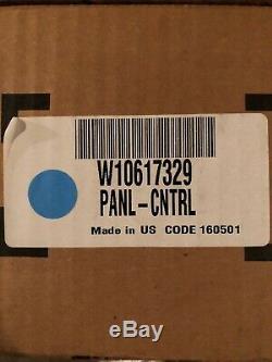W10617329 NEW Control Panel Jenn Air Range