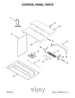 W11261165 Whirlpool Range Electronic Control Board See #3 on the Diagram