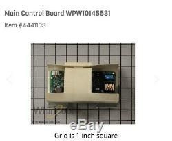 WHIRL/JENN AIR MAIN CONTROL BOARD #W10145531 FOR RANGES, see pics