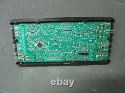 Whirlpool Electric Range Control Board with Stainless Overlay W10424886 ASMN
