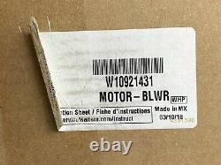 Whirlpool W10921431 Range Downdraft Vent Blower Motor Assembly OEM